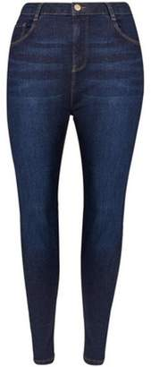 4eed621977ffe at Dorothy Perkins · Dorothy Perkins Womens   DP Curve Indigo  Shape    Lift  Jeans