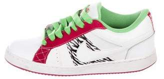 Nike Leather Low-Top Sneakers