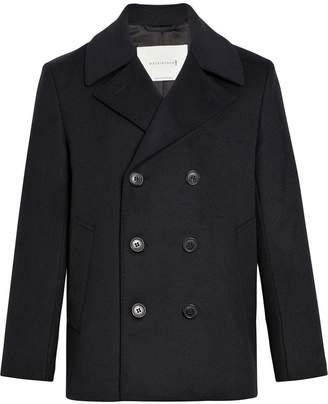 MACKINTOSH Black Wool & Cashmere Pea Coat GM-119F