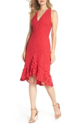 Maggy London Lace High/Low Dress