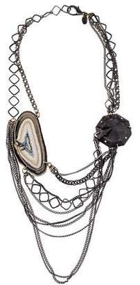 Erickson Beamon Agate Multistrand Necklace