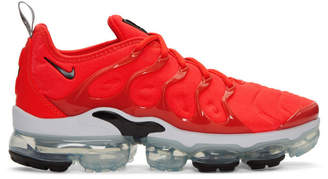 Nike Red Air VaporMax Plus Sneakers