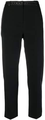 Karl Lagerfeld cropped tuxedo trousers