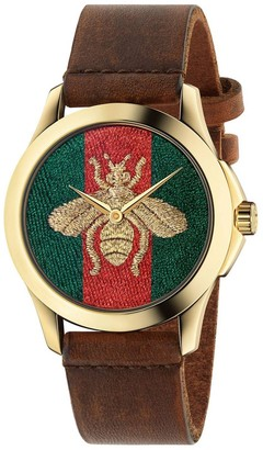 Gucci Watch Le Marché Des Merveilles Watch Case 38mm Motif Ape