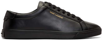Saint Laurent Black Andy Sneakers