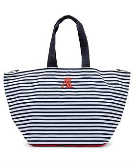 Armani Exchange Stripey Beach Bag