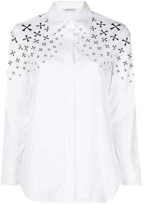 Neil Barrett star print shirt