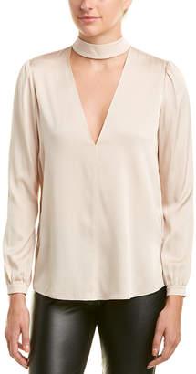 A.L.C. Liza Silk-Blend Top