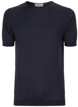 John Smedley Belden Sea Island Cotton T-Shirt