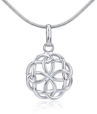 Celtic SILVEGO 925 Sterling Silver Pendant Sun