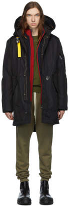 Parajumpers Black Down Masterpiece Right Hand Jacket