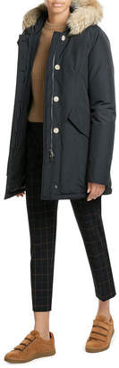 Woolrich Arctic Down Parka with Fur-Trimmed Hood $679 thestylecure.com