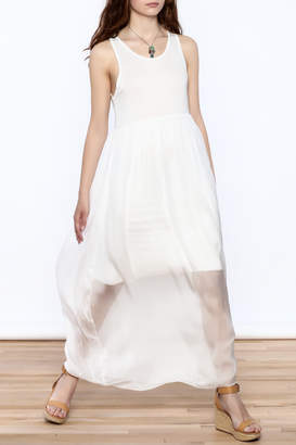 L & C Fashion Silk Maxi Dress