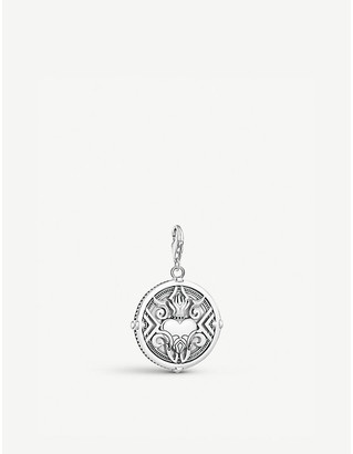 Thomas Sabo Heart with Flames sterling-silver charm pendant