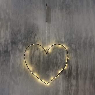 Graham and Green Small Black Heart Light