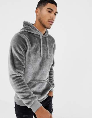 Soul Star Teddy Hoodie with Kangaroo Pocket