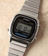 Casio (カシオ) - カシオデジタルレディース(シルバー×ブラック) LA670WA-1