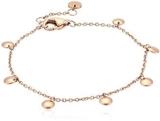 Skagen Women's Anette -Tone Charm Bangle Bracelet