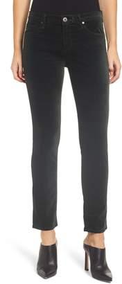 AG Jeans Prima Velveteen Skinny Ankle Pants