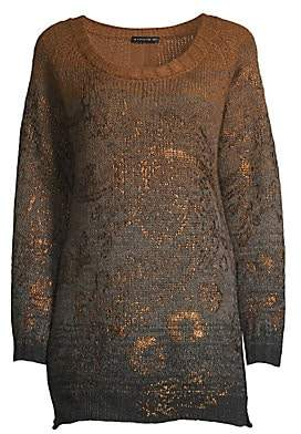 Etro Women's Ombré Lamé Sweater