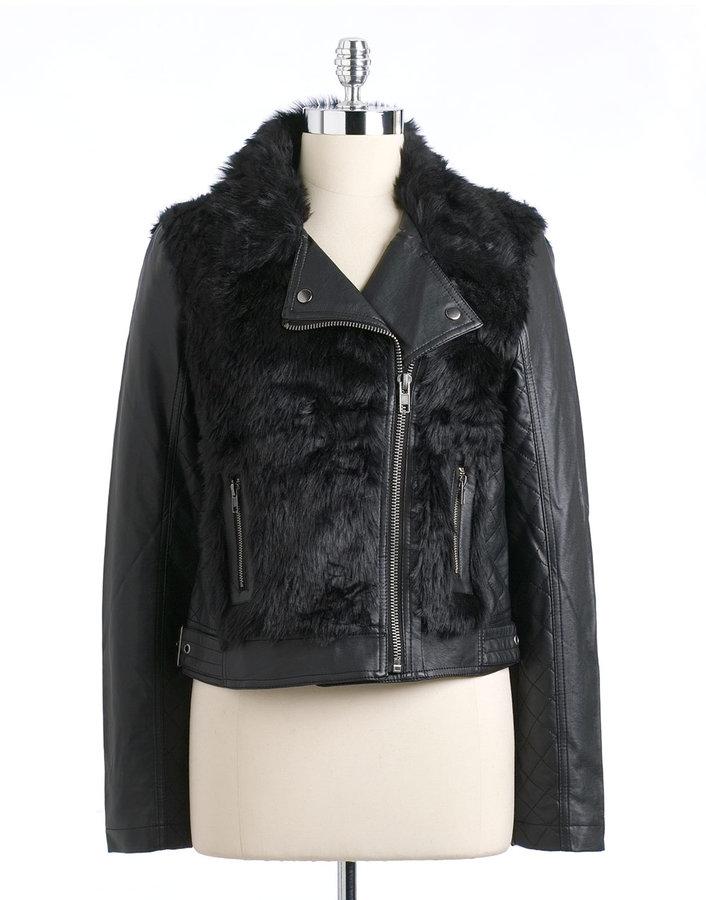 KUT Faux Fur Jacket