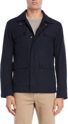 DKNY Patch Pocket Military Jacket
