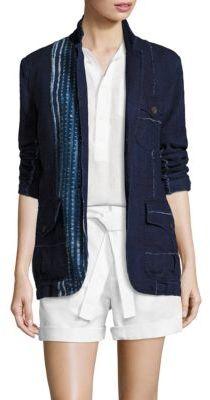 Polo Ralph Lauren Tie-Dye Linen Blazer $498 thestylecure.com