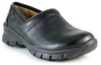 Nurse Mates Libby Leather Non-Slip Clogs