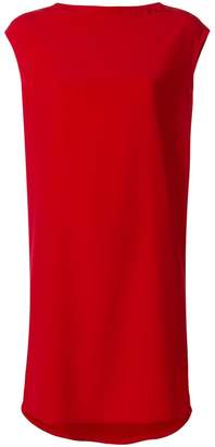 Gianluca Capannolo gathered back shift dress