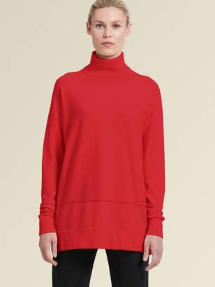 DKNY Oversized Turtleneck Sweater