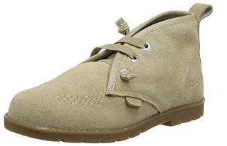 Kickers Boys' ORIN Desert Boots, Brown Sand, 5 (22 EU)