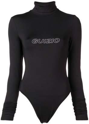 Danielle Guizio turtleneck bodysuit