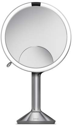 Simplehuman Eight Inch Multi-Magnification Sensor Makeup Mirror