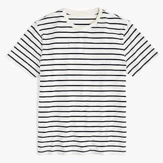J.Crew Tall Mercantile Broken-in T-shirt in deck stripe