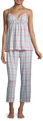 Couture Pj 2-pack Floral Pant Pajama Set-Juniors
