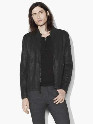 Laminated French Terry Jacket $598 thestylecure.com