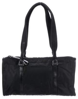 44fed6f0ed8d Prada Leather-Trimmed Tessuto Tote