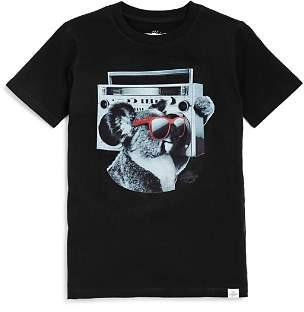 Kid Dangerous Boys' Koala Boom Box Tee - Little Kid, Big Kid