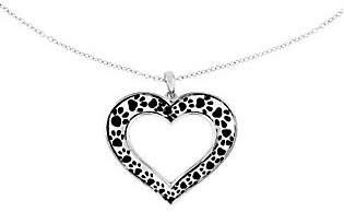 """Sentimental Expressions Sterling 18"""" Animal Lov er's Necklace"""