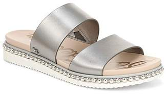 Sam Edelman Women's Asha Studded Leather Slide Sandals