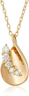Wisp (ウィスプ) - [ウィスプ] WISP 10金イエローゴールドダイヤモンドペンダント FPCWP21641