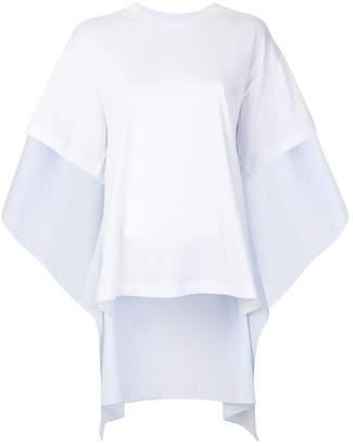 MM6 MAISON MARGIELA draped T-shirt