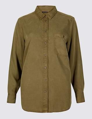Marks and Spencer Tencel Long Sleeve Shirt