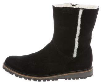 Aigle Shearling Ankle Boots