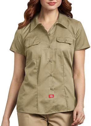 Dickies Women's Short-Sleeve Work Shirt