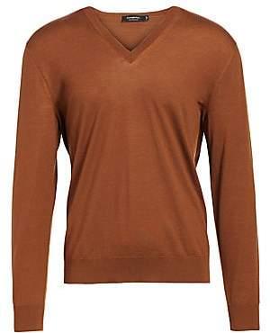 Ermenegildo Zegna Men's Wool V-Neck Sweater