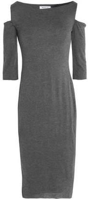 Bailey 44 Cold-Shoulder Stretch-Jersey Dress