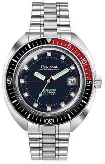 Bulova Archive Devil Diver Stainless Steel Bracelet Watch