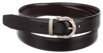 Salvatore Ferragamo Leather Buckle Belt