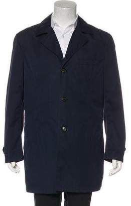 Brunello Cucinelli Woven Car Coat